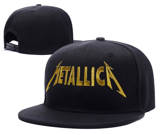 2015 ny Metallica Band Logo James Hetfield Lars Adjustable Snapback Caps  Embroidery Hats Pt.1 (Uk) The Unnamed 9a58a9a781d