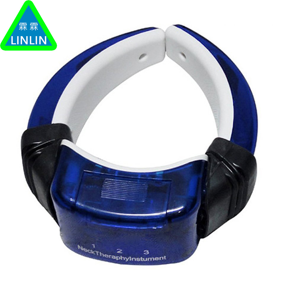 Electric Pulse Cervical vertebra massage instrument. Back and Neck Electromagnetic physiotherapy Massager .Neck pillow massager wholesale cycle pulse physiotherapy number low frequency slimming mini massage instrument