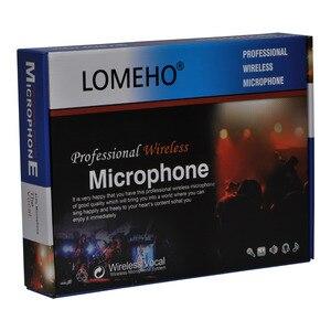 Image 5 - Lomeho LO V52 2 VHF metalowy ręczny nadajnik dynamiczny 2 kanały kościół konferencji Karaoke Party DJ mikrofon bezprzewodowy