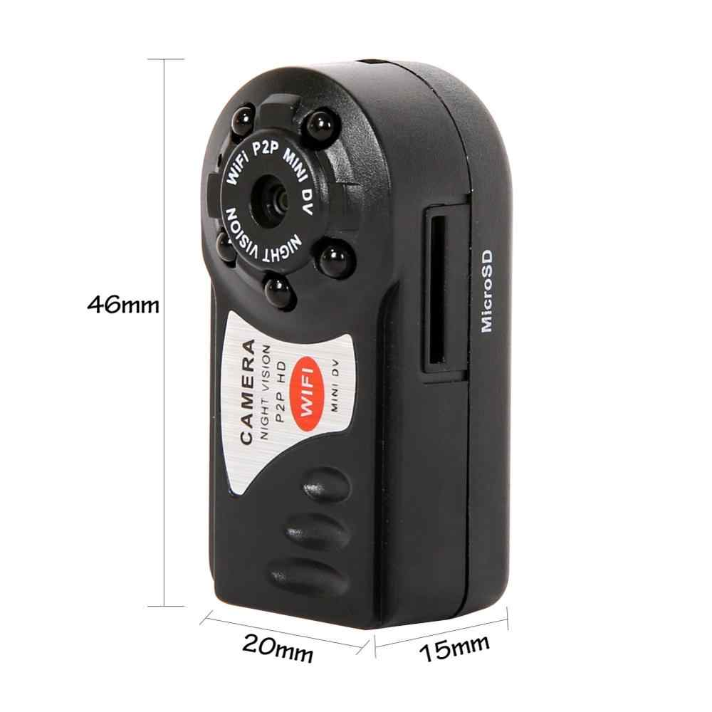 Baru Mini Q7 Kamera 480 P Wifi DV DVR Wireless IP Cam Baru Mini Video Camcorder Perekam Malam Inframerah visi Kamera Kecil