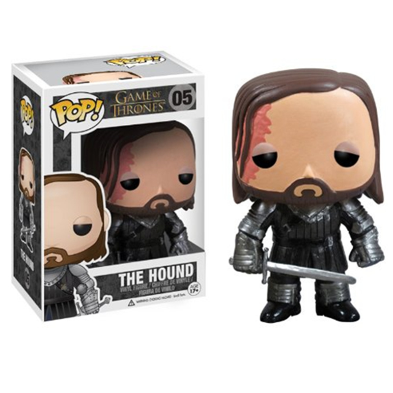 Funko Pop New Arrival Game of Thrones: The Hound Vinyl Action Figures Collectible Model Toys For Family Children Kid GiftsFunko Pop New Arrival Game of Thrones: The Hound Vinyl Action Figures Collectible Model Toys For Family Children Kid Gifts