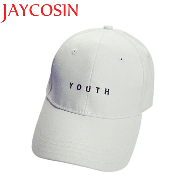 Men Cotton   Baseball     Cap   JAYCOSIN Delicate Hot! youth letter Embroidery Boys Girls Snapback Hip Hop Flat Hat