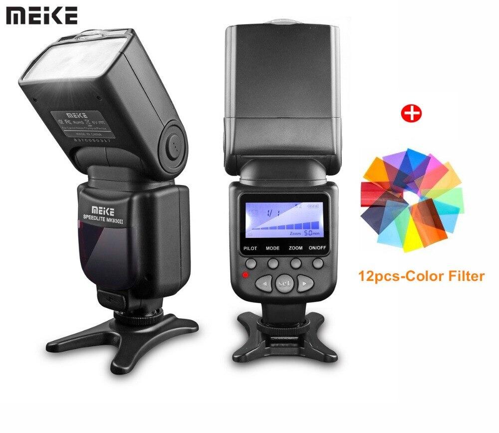 Meike Marca MK-930 II MK930 II Flash Light Speedlite per Nikon Canon 400D 450D 500D 550D 600D 650D come yongnuo YN-560 II YN560II