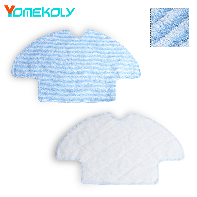 Washable Reusable Replacement Microfiber Mopping Cloth For Haier Robot Vacuum Cleaner T520 Mop Cloths 350*202mm washable reusable replacement microfiber mopping cloth for haier robot vacuum cleaner t520 mop cloths 350 202mm