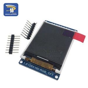 Image 5 - 3.3V 1.44 1.8 אינץ סידורי 128*128 128*160 65K SPI מלא צבע TFT IPS LCD תצוגת מודול לוח להחליף OLED ST7735