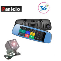 Panlelo B202 Car DVR 3G Wi Fi Mirror 6.86 Dash Cam Full HD 1080P Video Recorder Camera Android 5.0 GPS Navi Rearview Mirror Cam