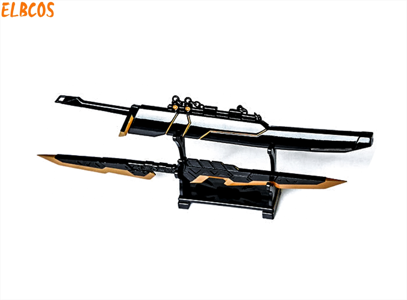 Duelist Fiora Yasuo Yi weapon 22cm/8.7 Sword model toys W/stand