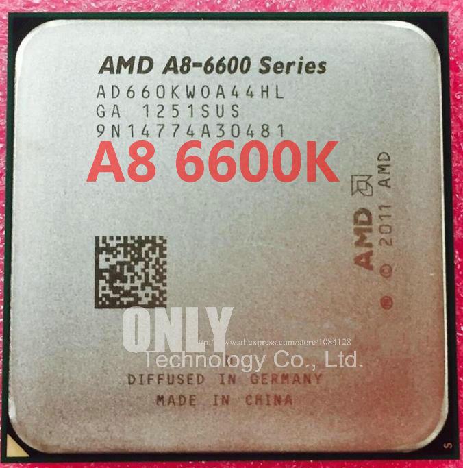 FREE SHIPPING A8 6600K A8 6600K 3.9GHz Socket FM2 32nm TDP 100W AD660KWOA44HL quad Core Desktop scrattered pieces-in CPUs from Computer & Office