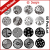 50pcs 30Designs New Nail Art Stamping Image Plates Template Polish Nail Stamp Stencil DIY Beauty Manicure