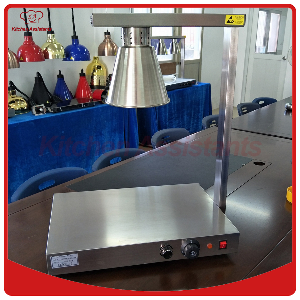 DR1 Electric Stainless steel Single food heat lamp image/food heat lamp lamp warmDR1 Electric Stainless steel Single food heat lamp image/food heat lamp lamp warm