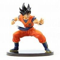 20cm Dragon Ball Z Martial Arts Son Goku Action Figure With Base Japan Anime Figure Collection