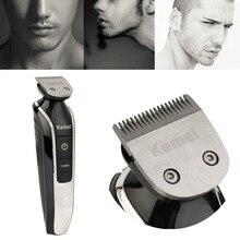 Лидер продаж машинка для стрижки волос Бритвы Kemei 5 в 1 Электрический Борода резак 360 градусов триммер для стрижки волос бритья стрижка инструмент наивысшего качества