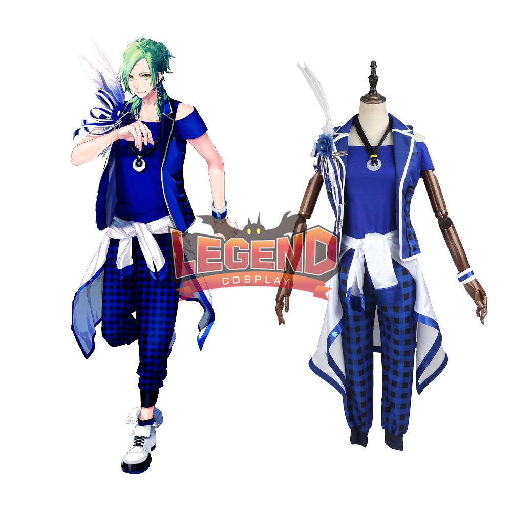 Anime B-project Kodou Ambitious MooNs Osari Hikaru Cosplay Costume Coat adult costume halloween costume custom made full set