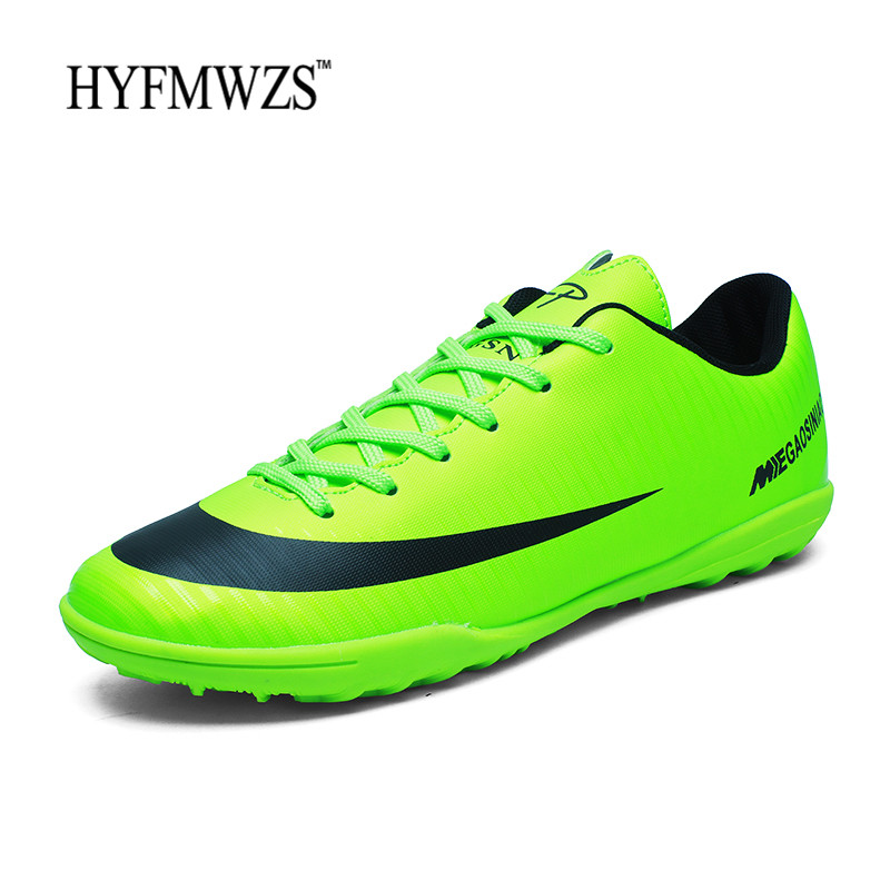 5d28d0a4d7 HYFMWZS High Quality Cheap Soccer Shoes Men Superfly Original TF Boys  Football Boots Indoor Krasovki Breathable Chuteira Futebol-in Soccer Shoes  from Sports ...