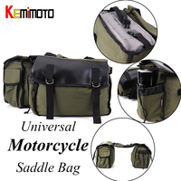 Motorcycle Bag Saddlebag Motorcycle luggage bag Travel Knight Rider for Harley Sportster 883XL 1200 Cruiser Motorcycle bag
