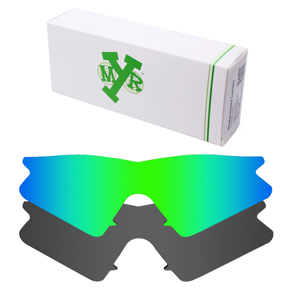 7d3a557d1cc 2 Pieces Mryok Anti Scratch POLARIZED Replacement Lenses for Oakley M Frame  Sweep Sunglasses Lens Stealth Black   Emerald Green-in Accessories from  Apparel ...