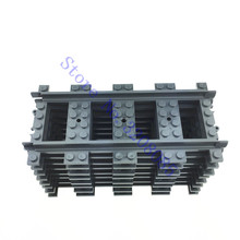 10pcs/lot City Trains Train Track Rail Straight Rails Building Blocks Set Bricks Model Kids Toys Compatible