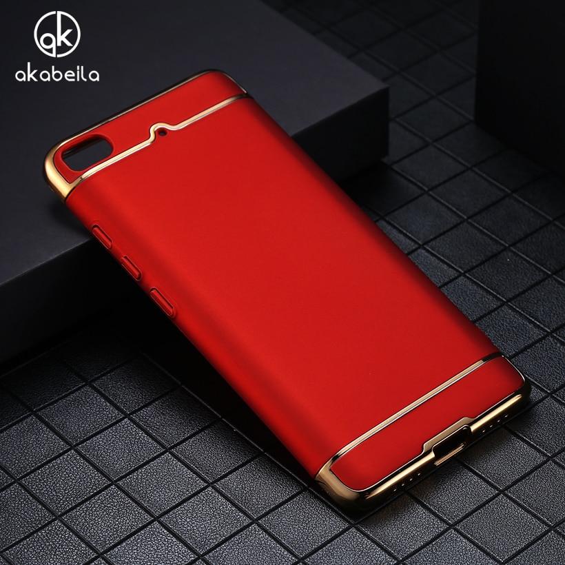 AKABEILA Plating Plastic Case Cover For Xiaomi Mi5s Xiaomi Mi 5S Plus Pro Prime Case Matte Phone Bag Plating Covers Mi 5S Plus