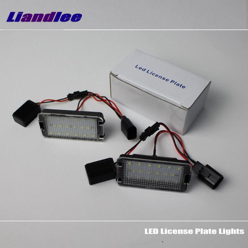Liandlee для Фольксваген Фольксваген Джетта МК6 / Бора 2010~2014 LED номерного знака автомобиля света / номер кадра света / высокое качество светодиодные лампы