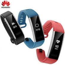 100% Original Huawei Banda Esporte 2 pro com GPS multi-lingual Pulseira B29 para Nadar com Monitoramento da Freqüência Cardíaca empurre mensagem