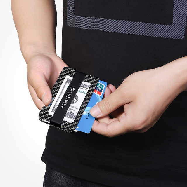 Carbon Fiber Key Organizer, Credit Card  RFID with 16gb USB