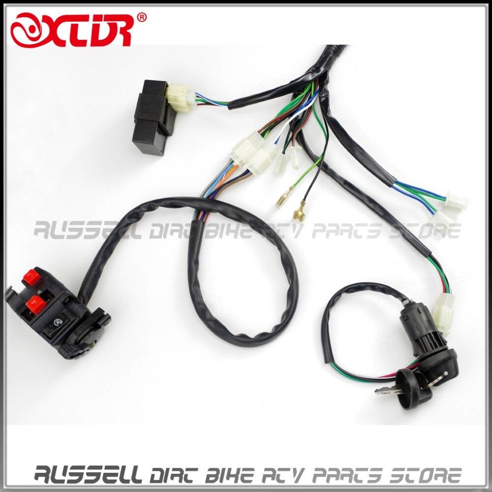 GY6 125cc 150cc ELECTRICS Stator Wire Wiring Harness Loom Magneto ...
