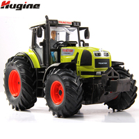 Tractor Model Farmer Car Toy Alloy New Pull Back With LightsΜsic Transport Alloy Car Model Christmas Gift Toys For Children