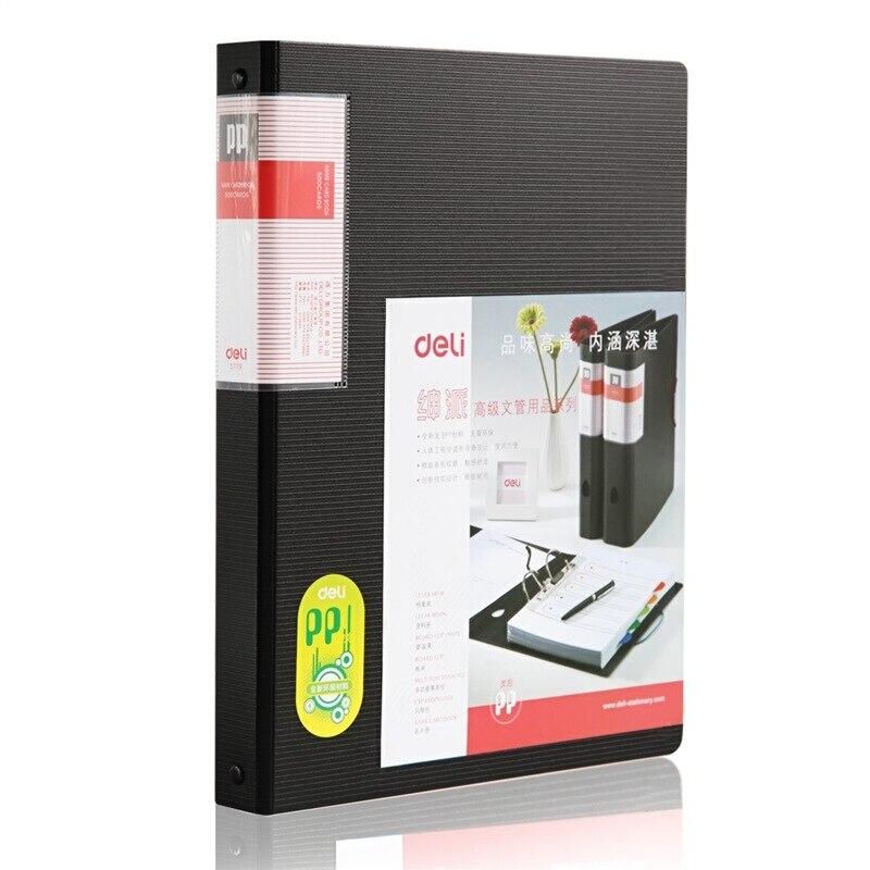 Deli Super Large Capacity Business Card Book Holder Stock Journal