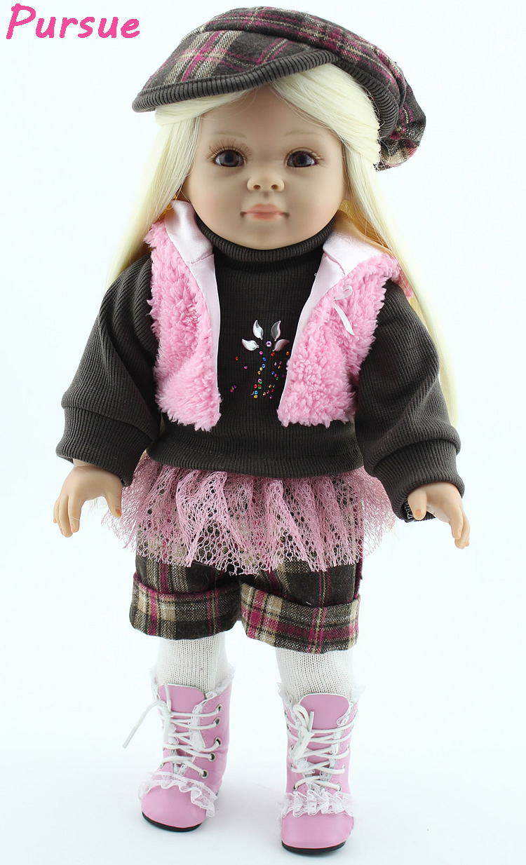 Hot Sale Pursue 18 Inch 45 Cm Bjd Doll Toys For Girls American Girl