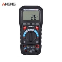 6000 Counts Digital Multimeter Display Automatic And Manual Range Backlight LCD Display With USB Interface PK UT61E UT139C