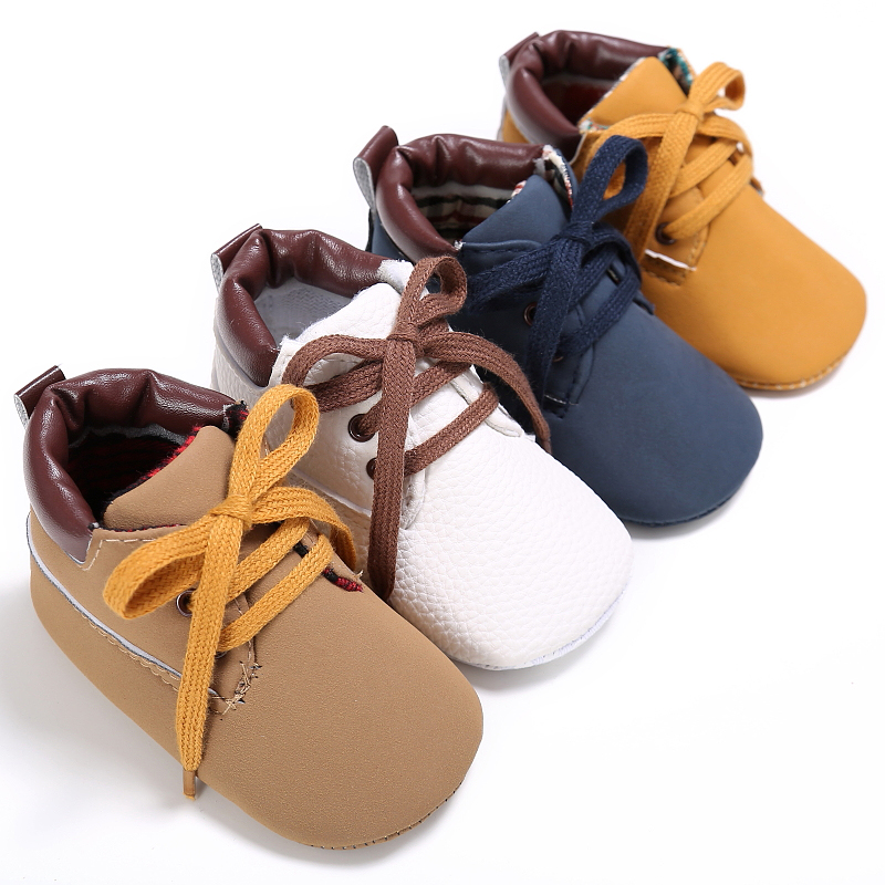 Detail Feedback Questions about Baby Boys Shoes Sneakers Newborn Crib Bebe  Kids Sports First Walkers Soft Soled Anti Slip Infant Toddler Children  Footwear ... 91621be9be13
