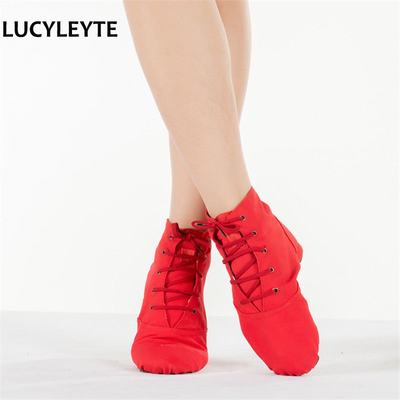 LUCYLEYTE Child and Adult dancing shoes for women jazz dance shoes professional Jazz shoes woman sneakers zapatillas mujer
