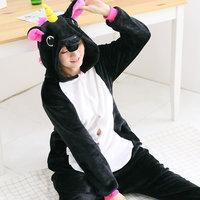Black Pegasus Adult Unicorn Pajamas Unicorn Onesies Animal Pajamas Onesies Adult Animal Onesies Pajamas Christmas Pajamas