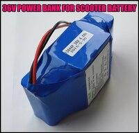 Livre DHL para Scooters 36 V 4.4AH Bateria 4400 MAH Recarregável De Lithium-ion Battery Packs Dinâmico
