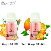 Free Shopping 100 Pure Plant Essential Oil Ginger 10ml Improve Cold Accumulation Of Phlegm Anti Hair