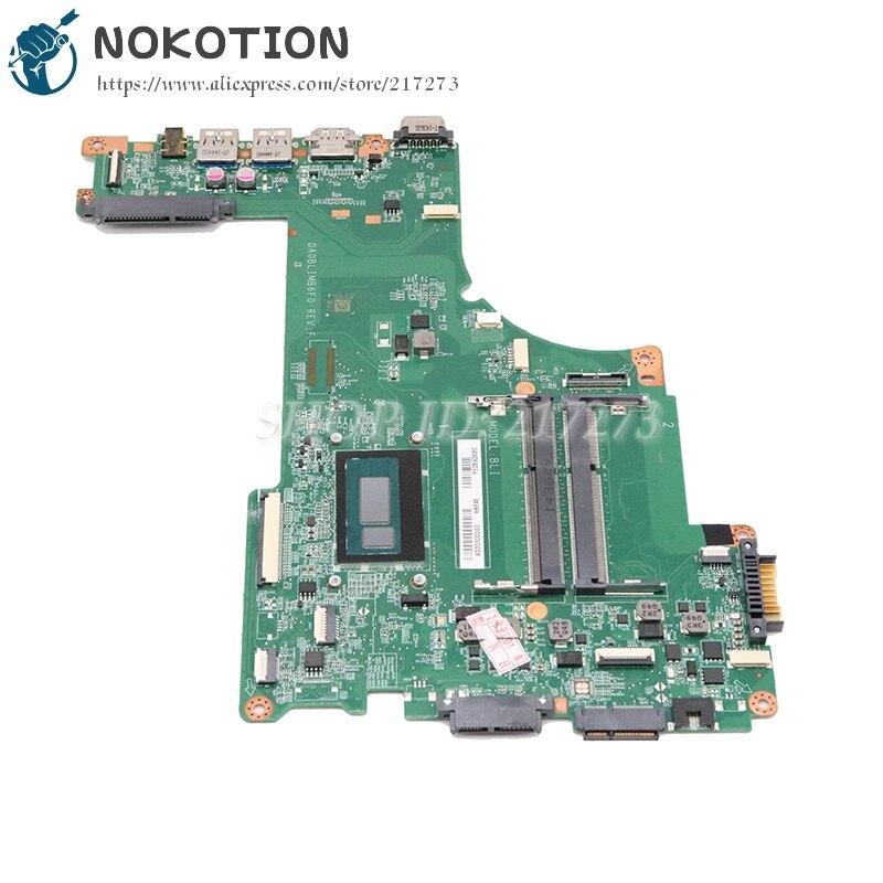 NOKOTION Per toshiba satellite L55T-B L55-B L55T scheda madre del computer portatile i5-5200U CPU A000302740 DA0BLIMB6F0 scheda principaleNOKOTION Per toshiba satellite L55T-B L55-B L55T scheda madre del computer portatile i5-5200U CPU A000302740 DA0BLIMB6F0 scheda principale