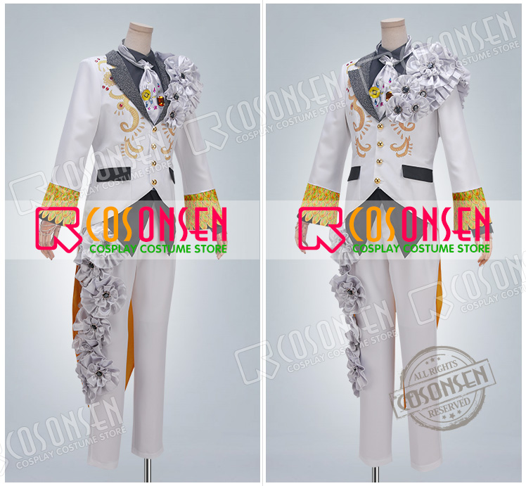 Image 4 - Anime Idolish7 OP Nagi Rokuya WiSH VOYAGE Cosplay Costume new Full Set All Sizes COSPLAYONSEN adult costume-in Game Costumes from Novelty & Special Use
