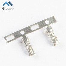 100 шт. женские Шпильки XH2.54 2.54 мм Металл Рид короткие Dupont глава Рид терминал разъем электронная схема DIY