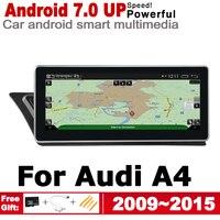 "hd מסך 10.25"" סטריאו מסך HD אנדרואיד 7.0 עד לרכב GPS Navi מפה אאודי A4 8K 2009 ~ 2015 MMI מקורי סגנון מולטימדיה נגן רדיו אוטומטי (1)"