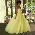 Puffy Princesa Vestidos Meninas Bonitas Masquerade Querida Doce Bola 16 Vestidos Quinceanera Vestidos Longos vestidos de 15 años