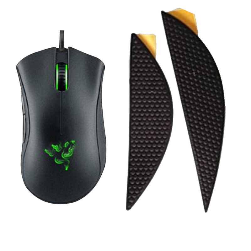 Anti-slip Tape For Razer Deathadder Elite Original  Mouse Side Sweat Resistant Pads Mouse Anti-Slip Tape Elastics Refined Side