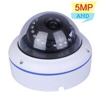 Hamrolte 5MP AHD Camera 1/2.7 SC5239 CMSO Vandal proof Outdoor/Indoor Nightvision Dome AHD Camera CCTV Camera