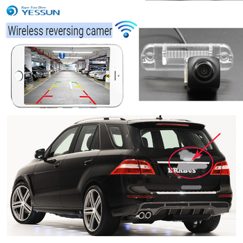 Car new Reverse wireless Camera for Mercedes Benz ML M Class W166 2012~2015 car Night Vision Backup high quality CCD hd camera