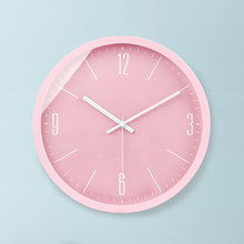 Horloge Murale Rose Silencieuse Design Moderne Cuisine Numérique Montres  Murales Décor à La Maison Secret Stash Salle De Bains H.