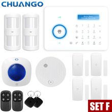 цена на Smart PSTN Home Burglar Security Alarm System PIR Motion Detector Sensor Alarm