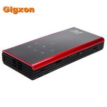 Gigxon-G06S Mini DLP LED Proyector Android WiFi Miracast HDMI Bluetooth para Teléfonos Inteligentes de cine en casa Proyector de vídeo Portátil