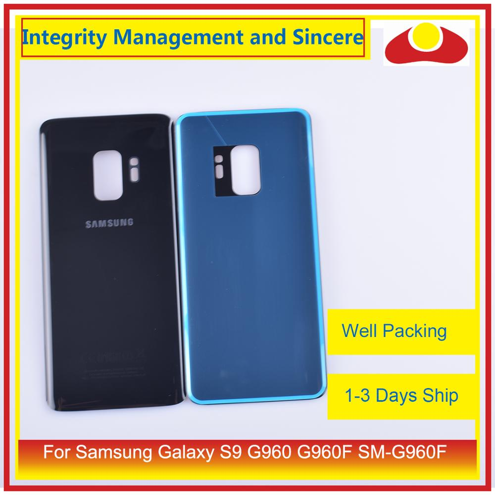 Image 4 - Original For Samsung Galaxy S9 G960 G960F SM G960F Housing Battery Door Rear Back Glass Cover Case Chassis Shell-in Mobile Phone Housings & Frames from Cellphones & Telecommunications