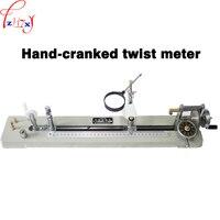 Hand-held torção Y321-type agitação máquina de torção do fio Têxtil máquina de torção instrumento de medição untwisting 1 pc