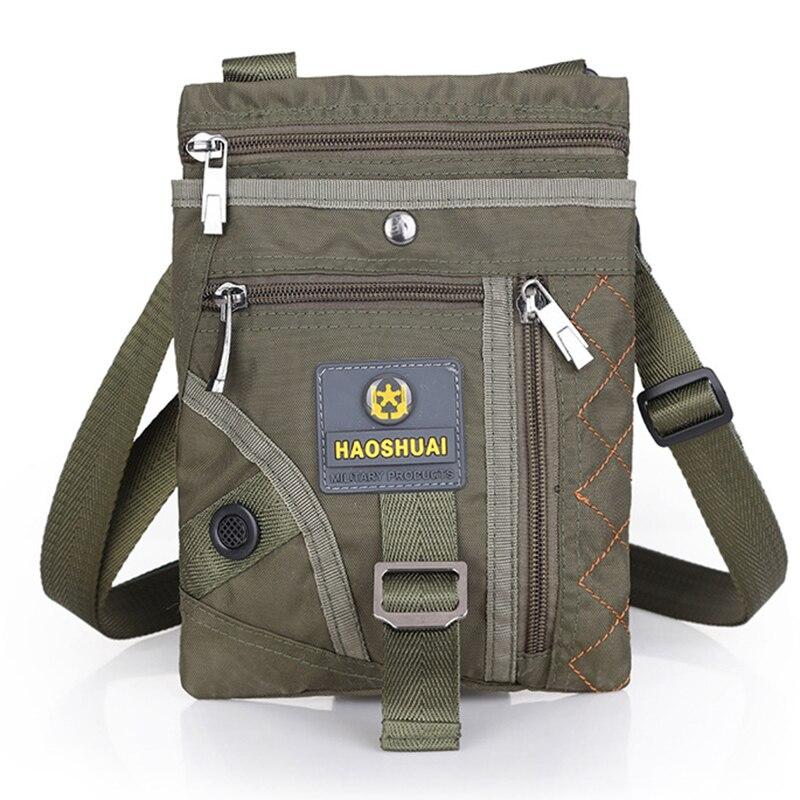 New Men Nylon Crossbody Hip Bum Waist Fanny Bags Travel Military Riding Male Loop Belt Pack Small Shoulder Messenger Bag