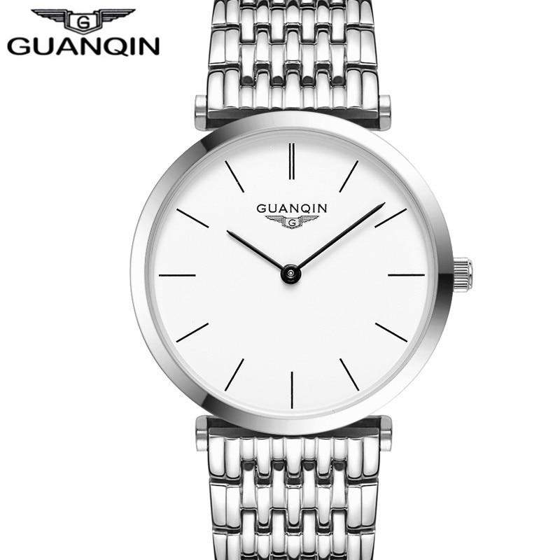 Saatlar kişilər Yeni Moda dizayneri Orijinal marka GUANQIN Sapphire - Kişi saatları - Fotoqrafiya 4